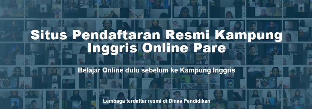 Pendaftaran Kelas Online Kampung Inggris